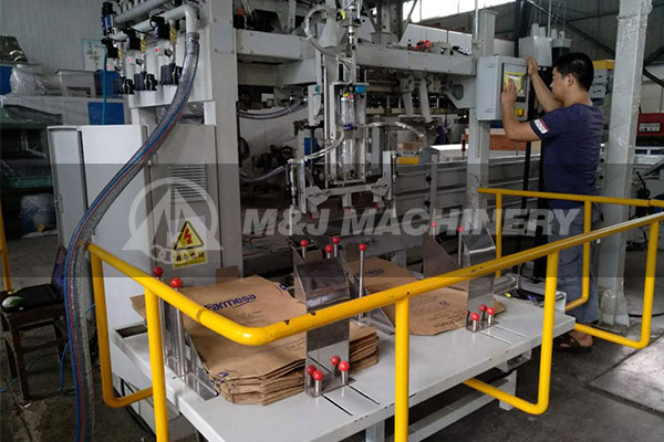 compeletely automatic bagging machine