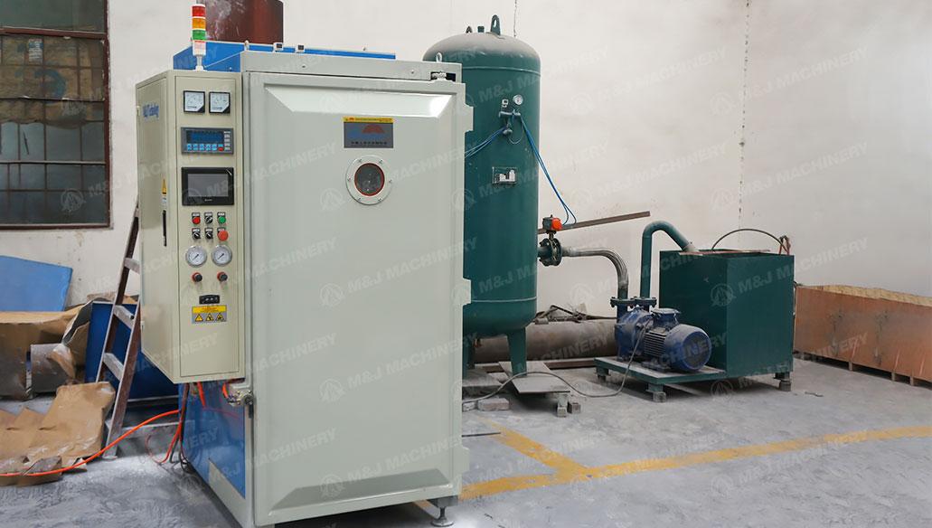 vacuum packing machine for valve bag