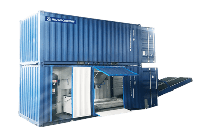 containlerized packing machine